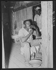 Sharecropper shaving