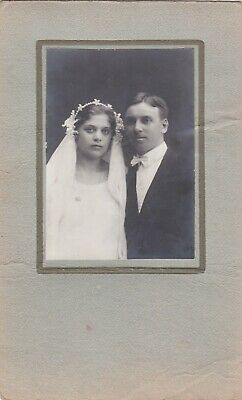 1920s-BIG-Wedding-Bride-Groom-Woman-man